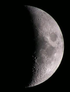 Moon Mar 25th 2015