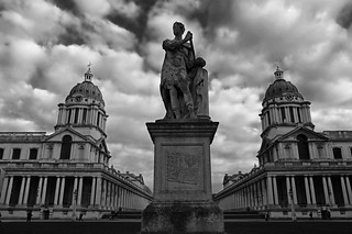 Statue of George II, Old Royal Naval College, Greenwich