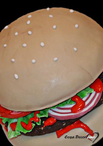 Torte - 93 - Torta Hamburger