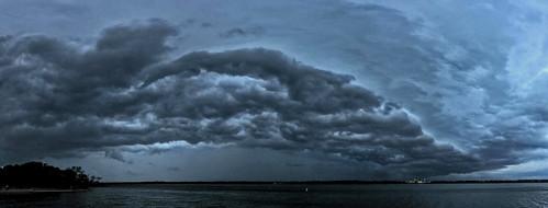 Thunderstorm - Lake Arlington 4/18/15
