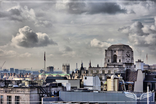 The Establishing Shot: PHOTO LONDON 2015 PROGRAMME ANNOUNCED - SHELL MEX HOUSE & SOUTH WEST LONDON SKYLINE FROM THE RADIO ROOFTOP BAR, LONDON ME HOTEL