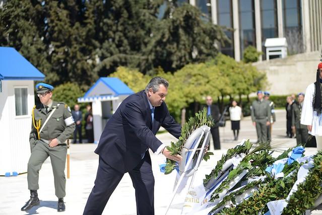 Παρουσία ΥΕΘΑ Πάνου Καμμένου στις εκδηλώσεις για την Εθνική Επέτειο του Κυπριακού Απελευθερωτικού Αγώνα