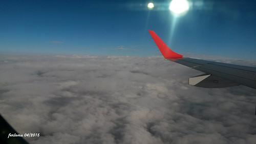 París_001 Por encima de las nubes