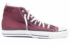 brown(0.0), purple(0.0), violet(0.0), leather(0.0), athletic shoe(0.0), pink(0.0), brand(0.0), suede(0.0), textile(1.0), magenta(1.0), sneakers(1.0), footwear(1.0), shoe(1.0), maroon(1.0), skate shoe(1.0),