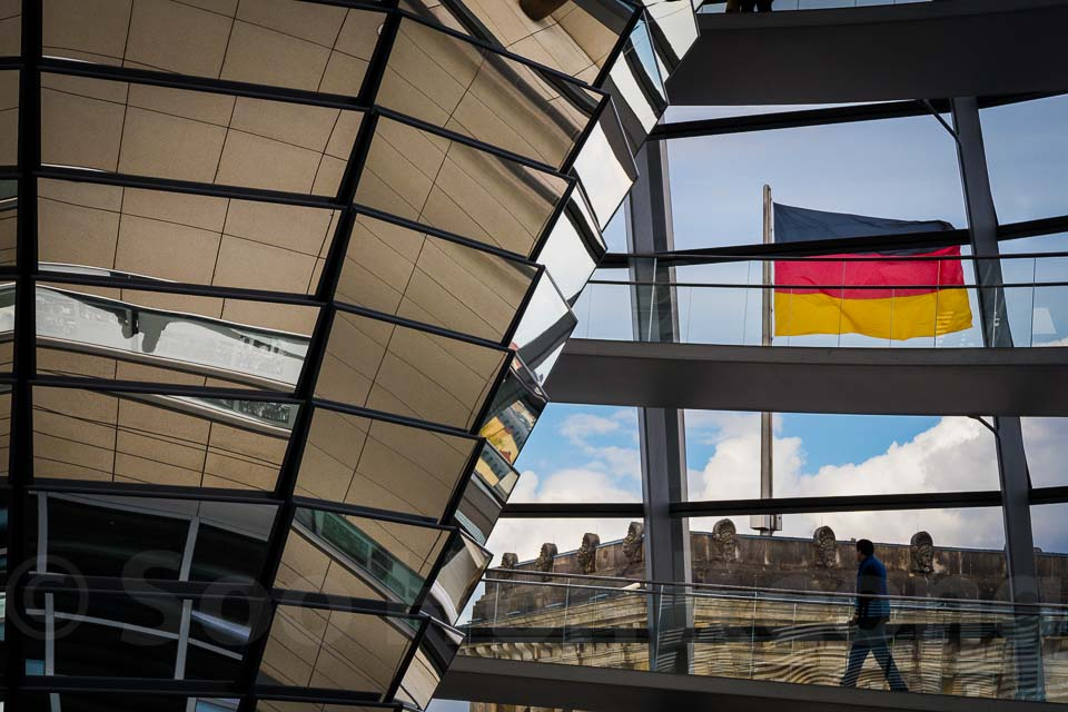 Reichstag building @ Berlin, Germany