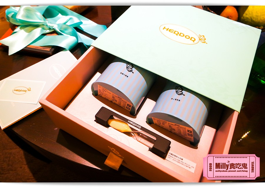 HERDOR 花漾藍絲禮盒0007