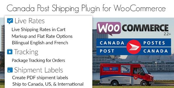 Canada Post Woocommerce Shipping Plugin v1.5.7