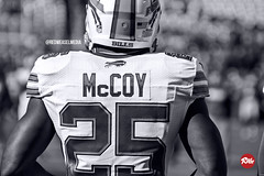 LeSean McCoy in Black and White