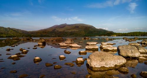 nokia lumia 930 muckross killarney ireland lake nature stones rock mountain mobile