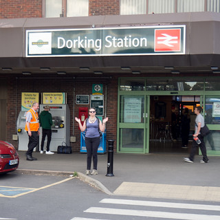 Dorking Station!
