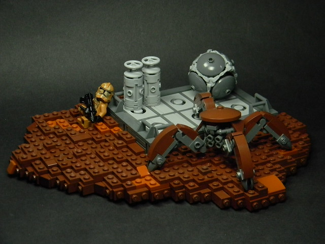 Having a Crabby Day, by Brick Productions, on Flickr