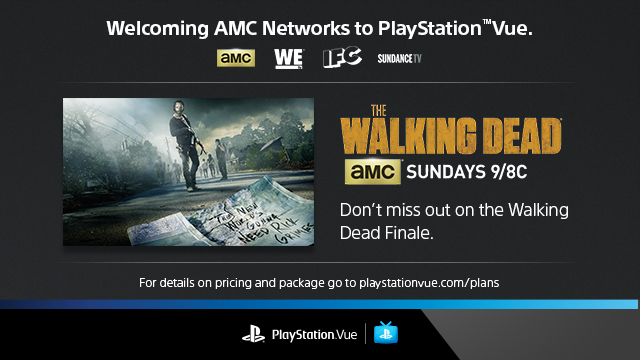 PlayStation Vue: AMC