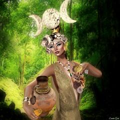 Ixchel  Mayan Goddess  Miss SL Second Challenge