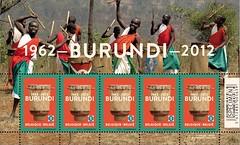 10b Burundi 1962-2012 feuille