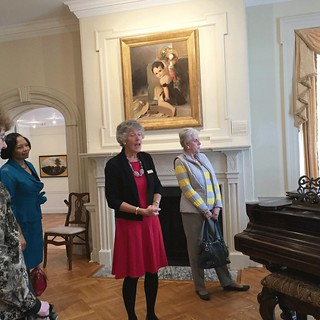 Morven docent Pat Butcher, Dee Cantrell, Neuza Smukler, Lynda Woods Cleary, and Lorraine Haucke_IMG_5268
