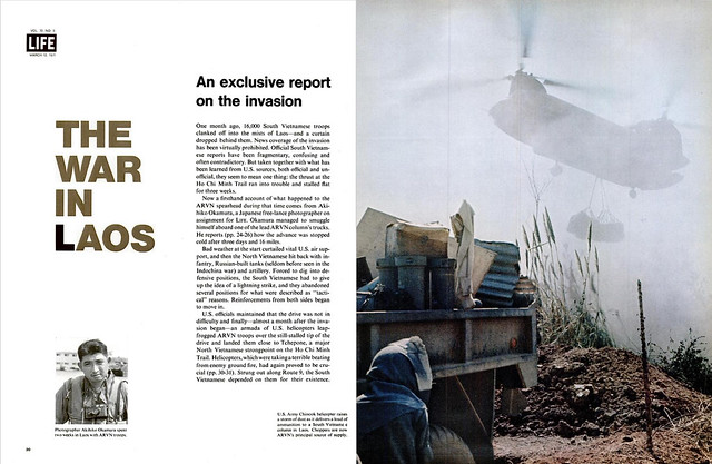 LIFE magazine, 12 Mar 1971 - THE WAR IN LAOS (1) - An exclusive report on the invasion