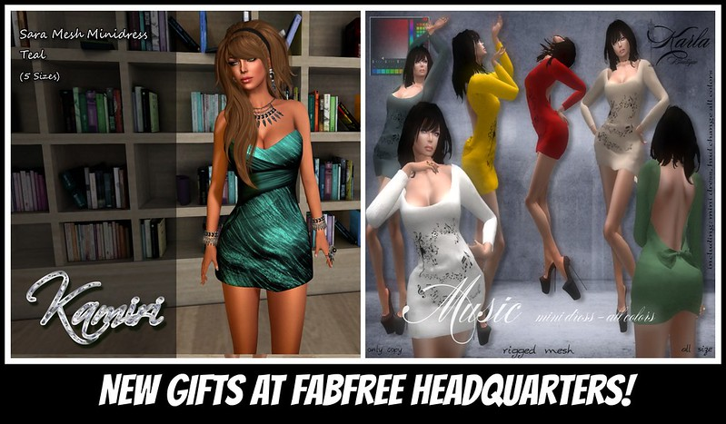 New Gifts @ FabFree Headquarters This Week :)