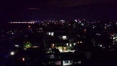 Port city and Colombo by night from Dehiwala