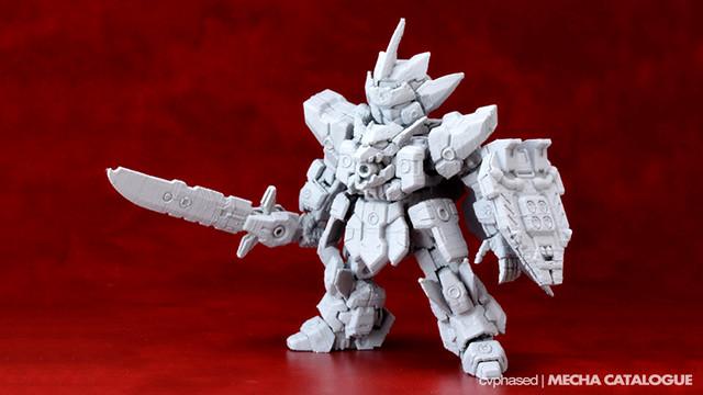 Max Factory - Tenkai Knights Braven X Model Kit