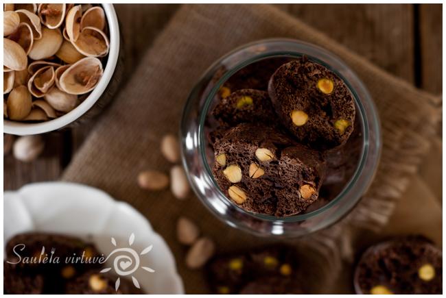 Šokoladiniai cantucci su pistacijomis (2)