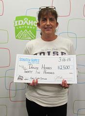 Darlene Hobbs - $2,500 First Class Fortune