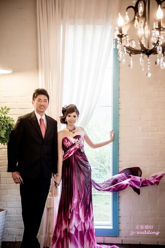 高雄婚紗推薦_高雄京宴婚紗_如何依身型挑選適合的婚紗禮服_高+瘦 (3)