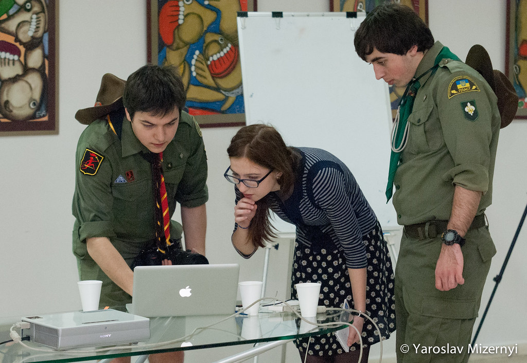 Lowcost travel training for Ukrainian scouts