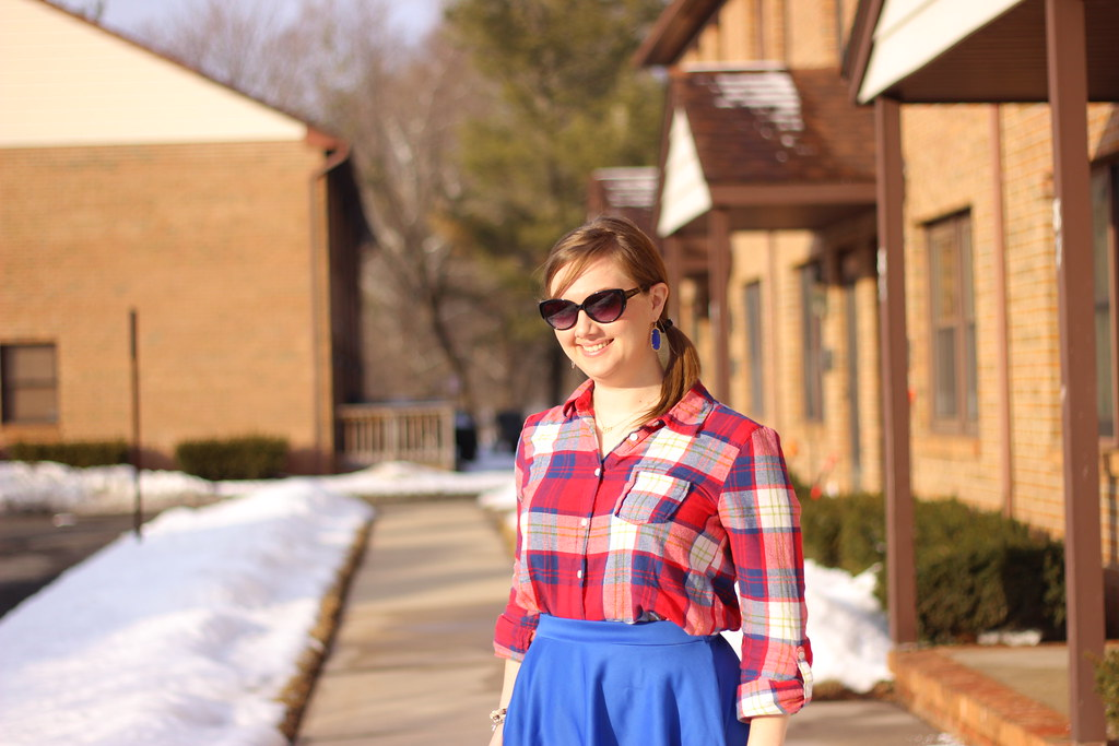 Plaid and Midi 1