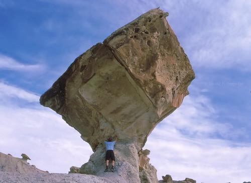 Rock hard place
