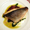 Sea bream with aubergines @brasseriezedel