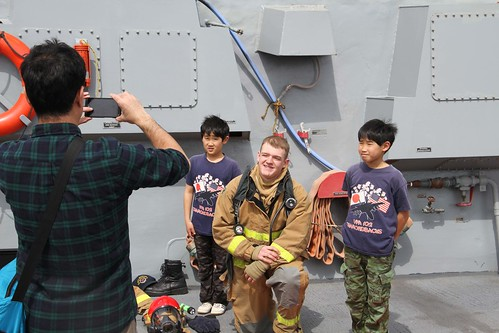 USS Mustin Shares Navy Life with Japan