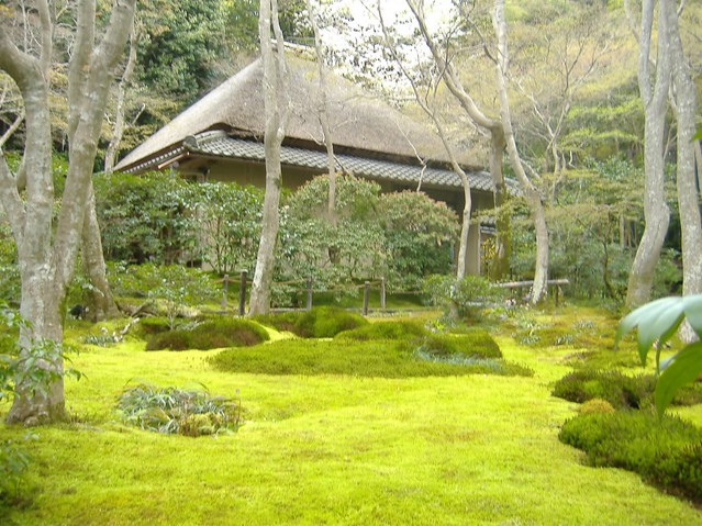 Moss garden at Gio-ji