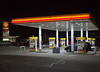 Gas Station at Night by gjmata2002