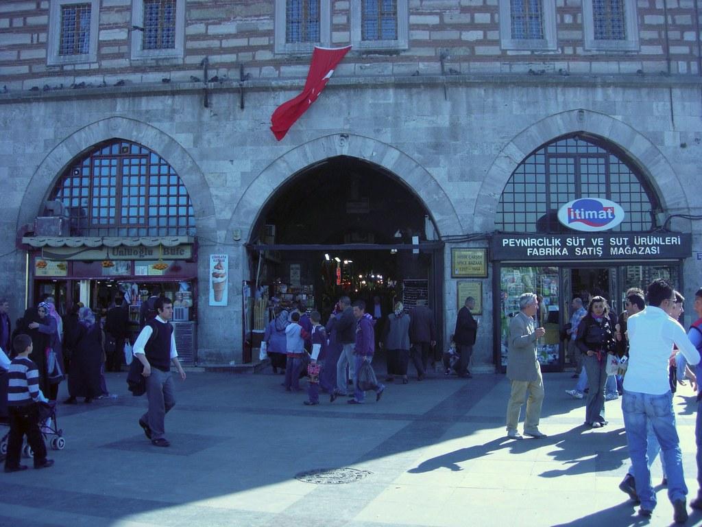 Entrada al Bazar de las especias