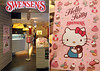 Hello Kitty desserts at Swensen's Café, Singapore