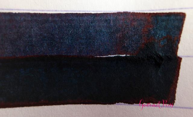 Ink Shot Review Sailor Bung-Box 4B Blue Black @bungbox (3)