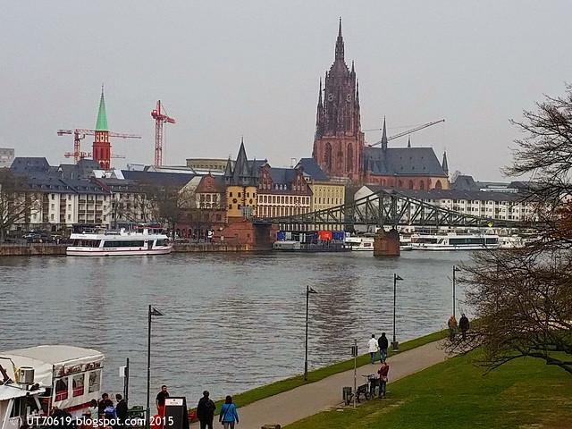 Frankfurt Dom & Eiserner Steg