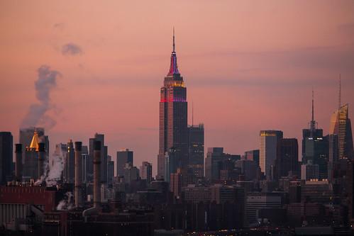 nyc newyorkcity sunset usa newyork brooklyn america unitedstates fav50 manhattan unitedstatesofamerica empirestatebuilding fav10 fav25 fav100