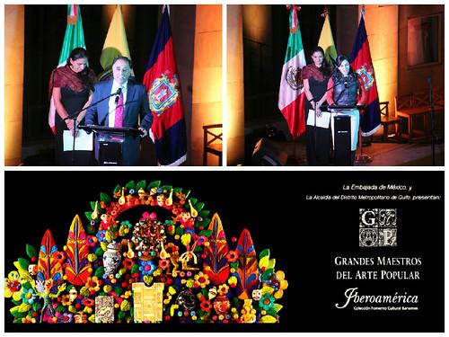 Exhibición Grandes Maestros del Arte Popular de Iberoamérica, Ecuador