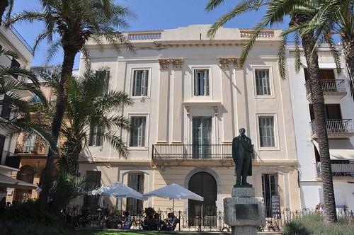 Sitges. Manuel Vidal i Quadras house. 1852-53.