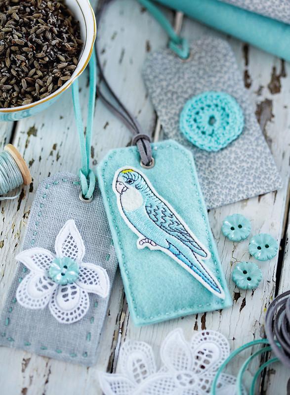 Torie Jayne's lavender tags