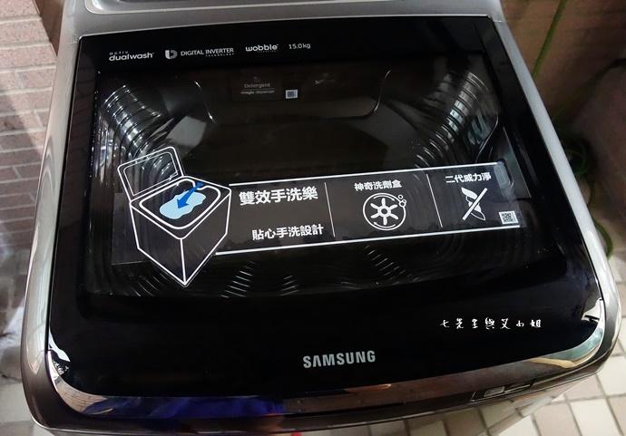 3 Samsung 雙效手洗 ActivDualWash 洗衣機