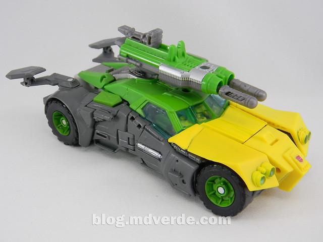 Transformers Springer Voyager - Generations - modo vehículo