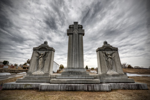 Precious Blood Cemetery by Frank Grace, via I {heart} Rhody
