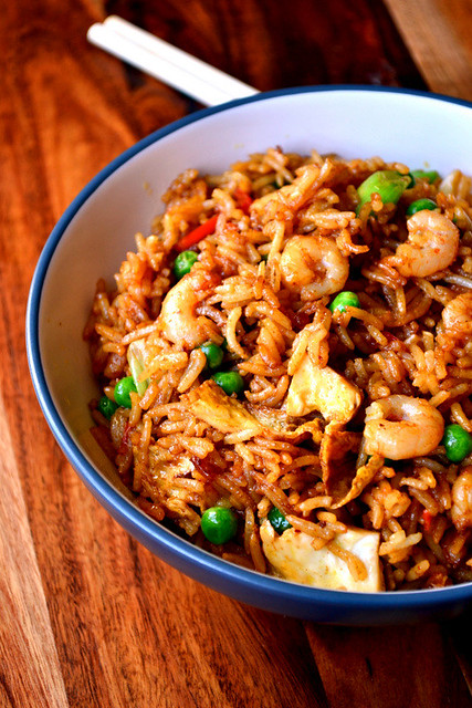 Spicy Singapore Fried Rice Recipe