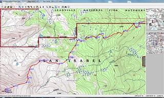 Mt Massive East Ridge Route