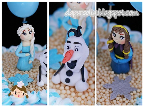 Frozen Cake for Cheryl