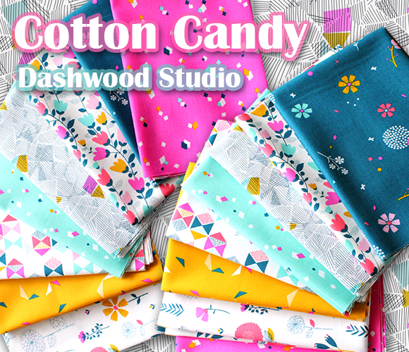 Dashwood Studio Cotton Candy Collection by Susan Driscoll