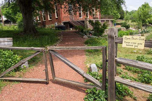 Path into garden
