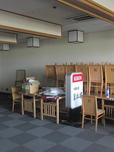 京都競馬場の閉鎖された中華料理店